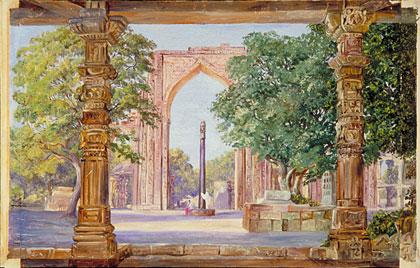 Kew Marianne North Gallery Painting 259 Iron Pillar Of