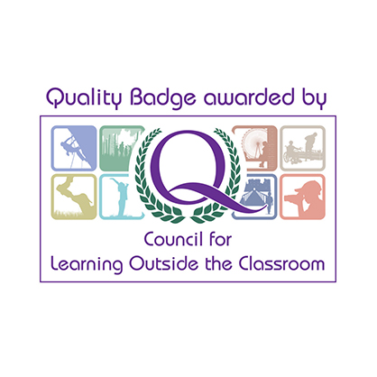 Quality Badger awarded by Council for Learning Outside the Classroom