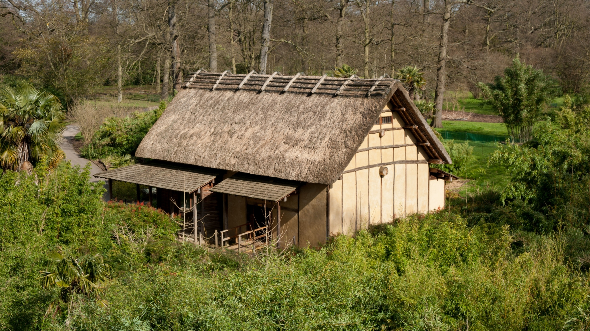 The Minka House in Kew's Bamboo Garden