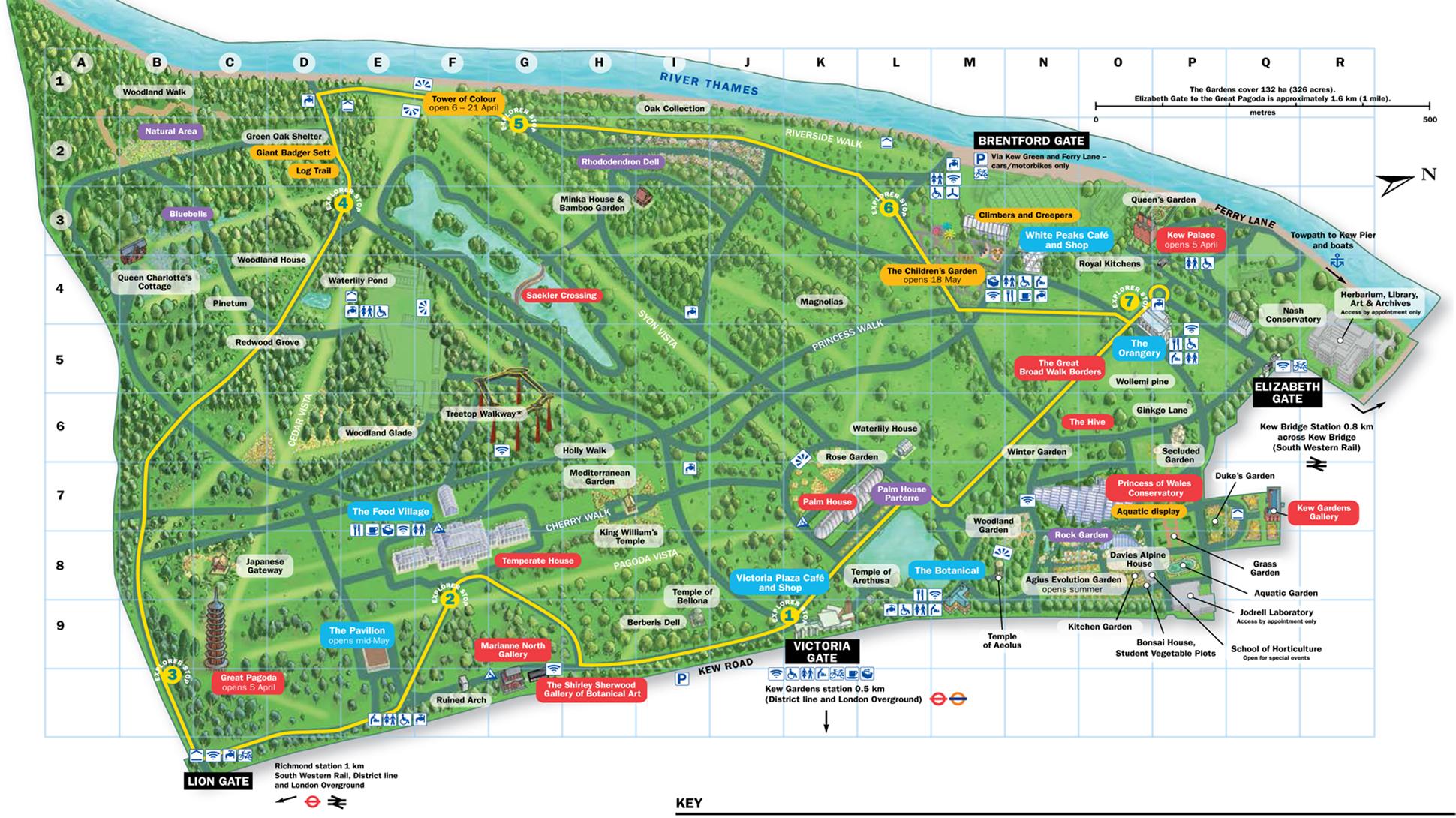Kew Gardens Map A spring day in Kew Gardens – vtthanhmai