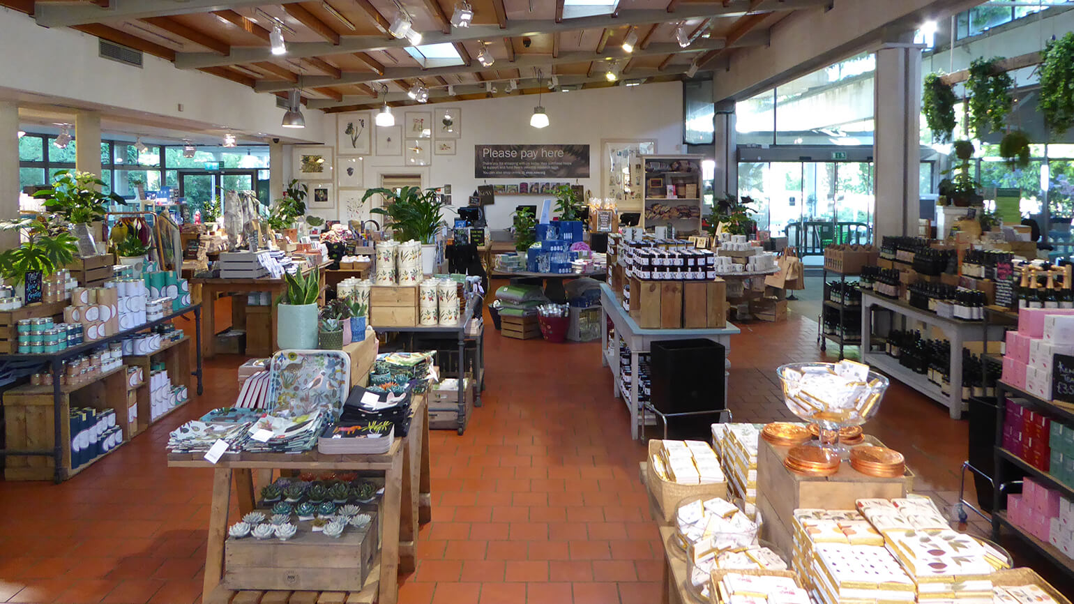 The interior of the Victoria Gate shop