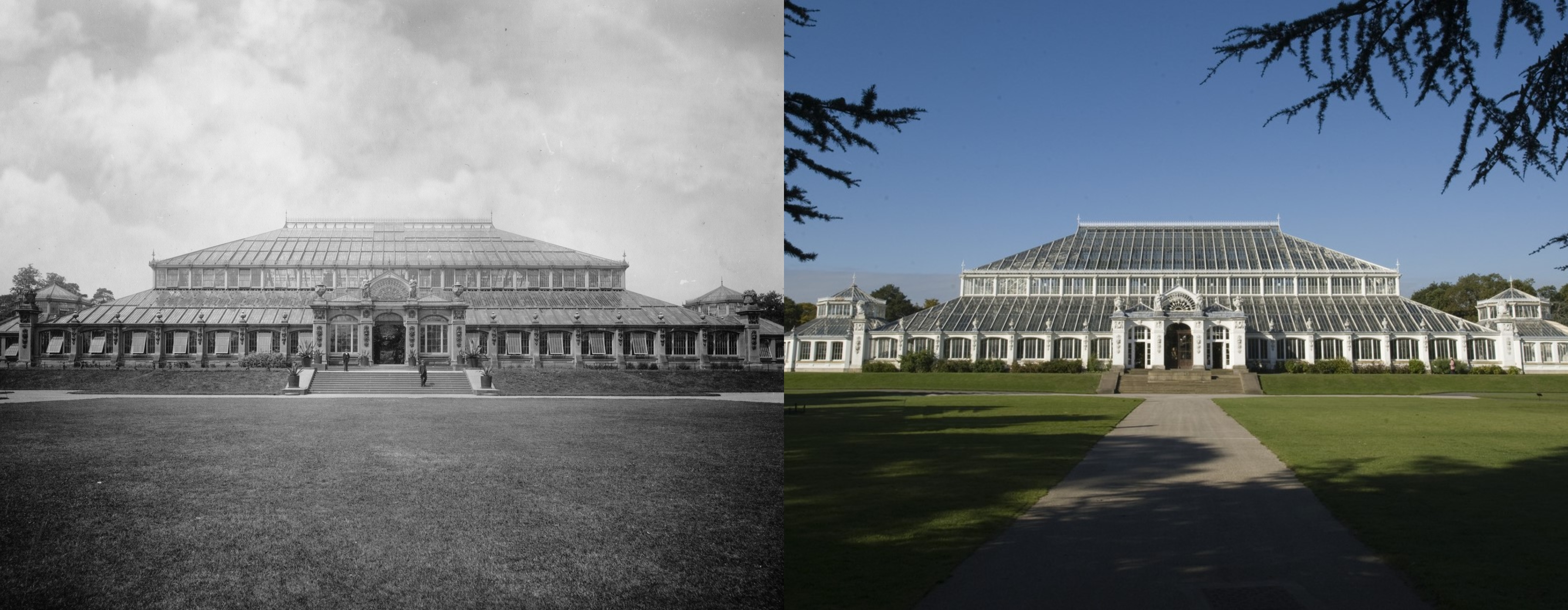 Temperate House then and now