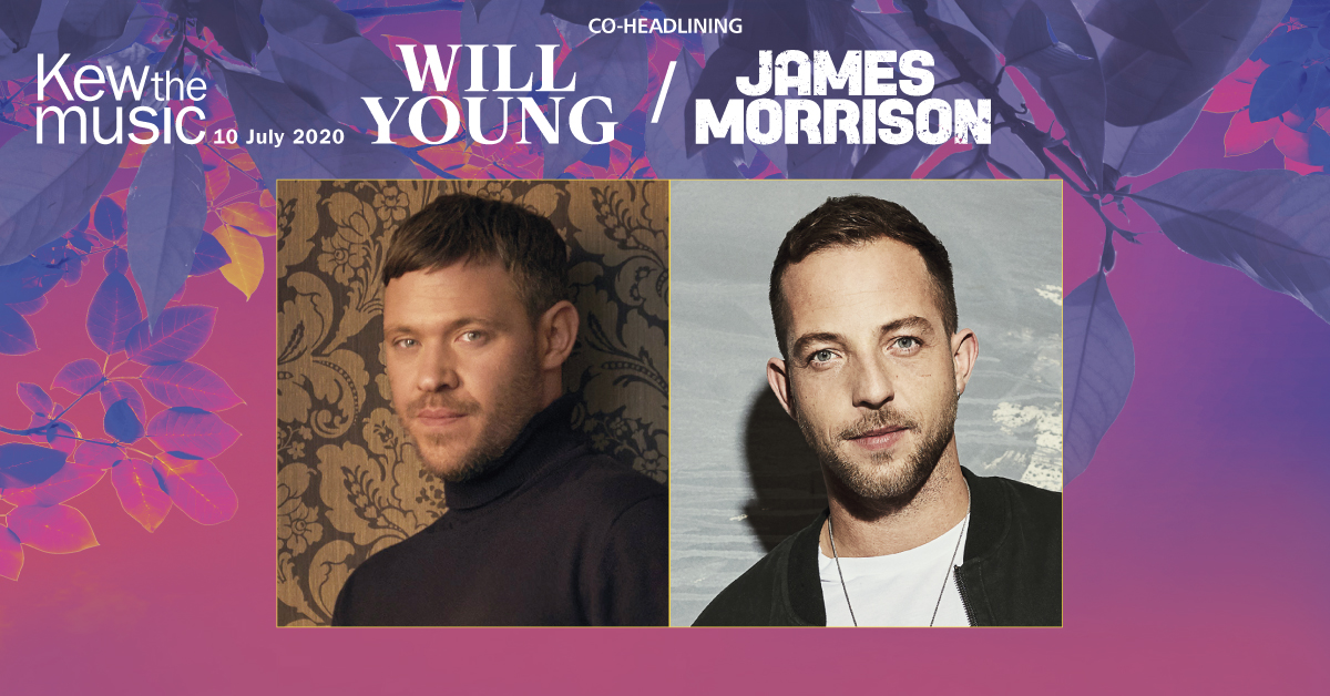 Will Young + James Morrison, Kew the music