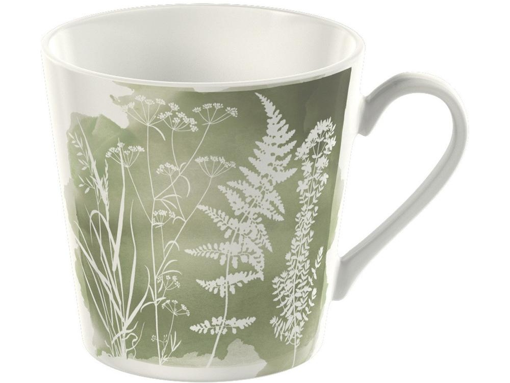 Kew Watercolour Meadow Mug - Sage