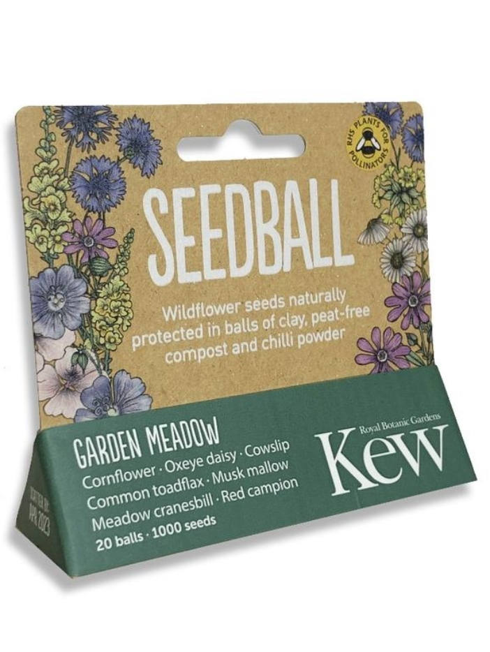 Kew seedball garden meadow mix