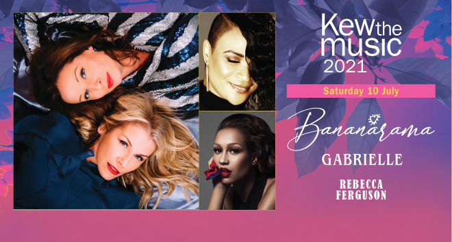 Bananarama - Supported by Gabrielle and Rebecca Ferguson, Kew the music 2021, 10 July
