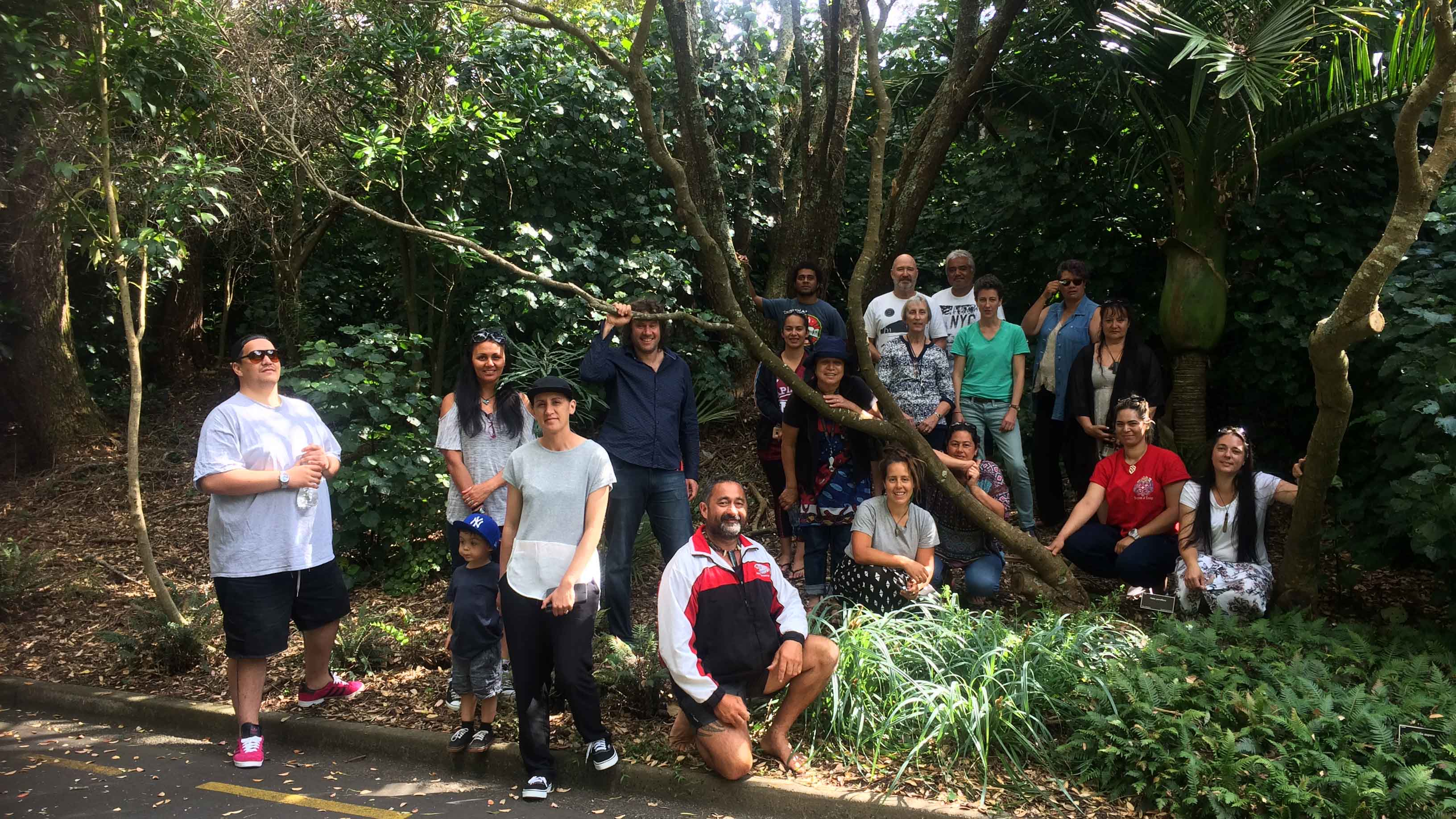 Image showing Participants of the Seed Conservation Techniques course held at Auckland Botanic Gardens, 4th to 8th December