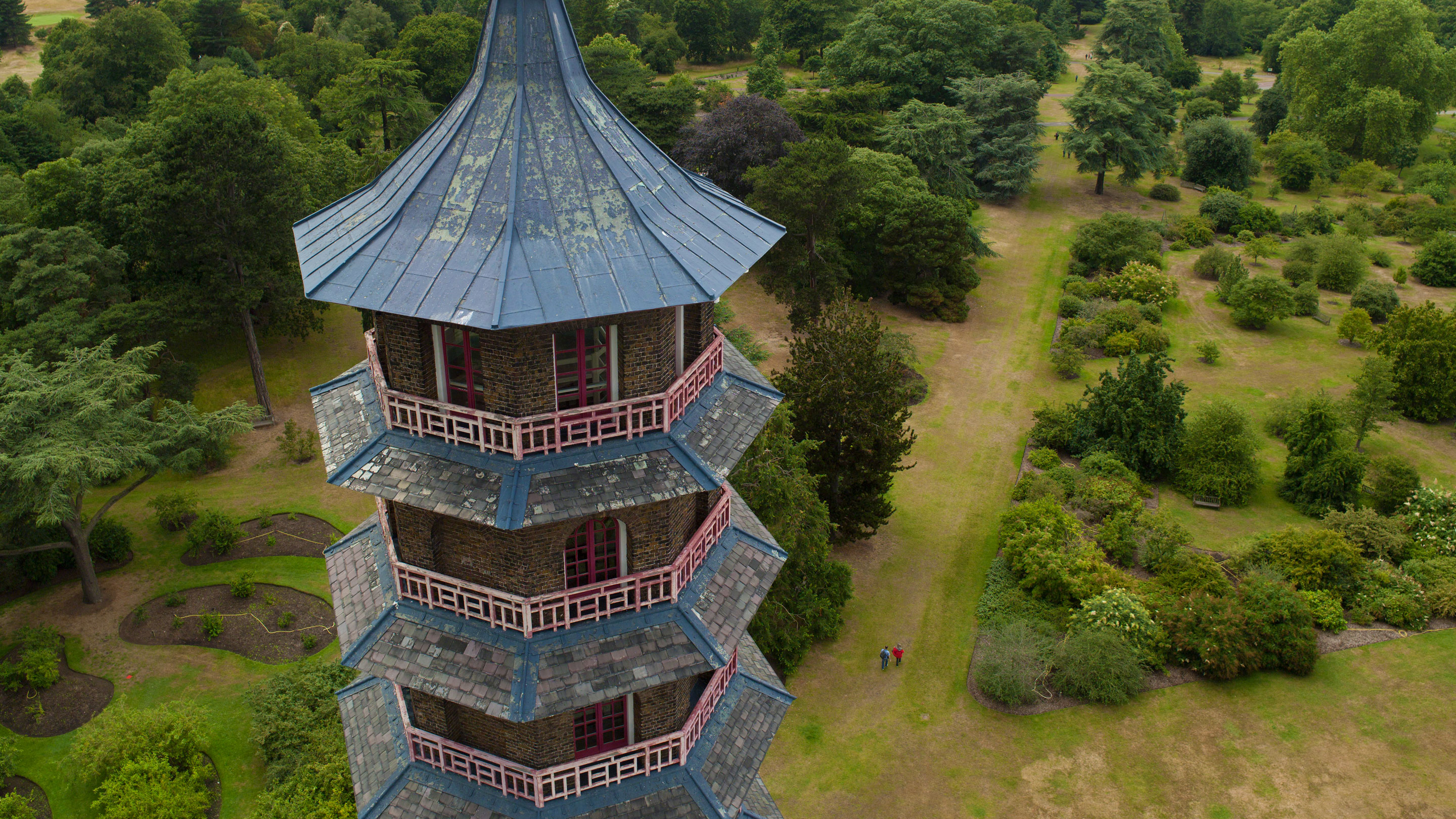 Aerial view of the Great Pagoda