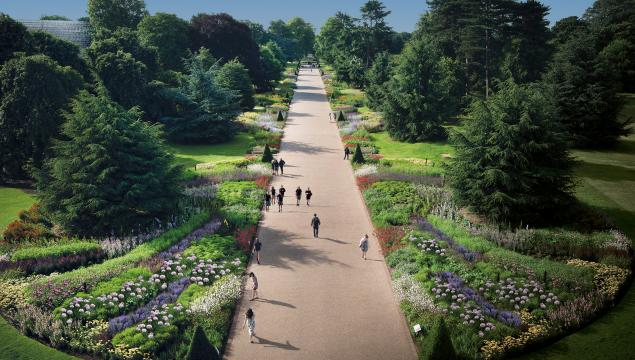 The Great Broad Walk Borders at Kew