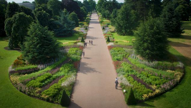 The Great Broad Walk Borders at Kew
