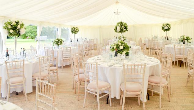Marquee at Wakehurst