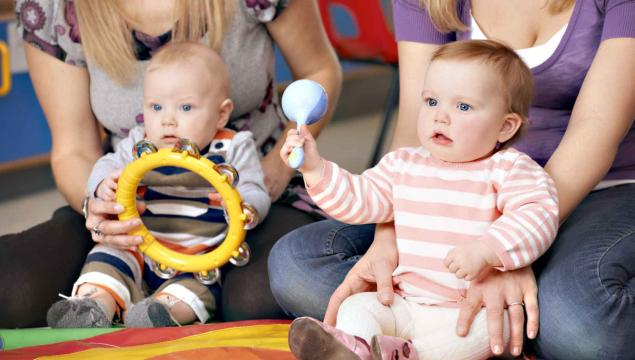 Music and movement for 0-5 year olds