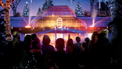Christmas at Kew - Palm House