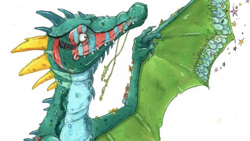 Goldy the dragon (Image: Historic Royal Palaces)