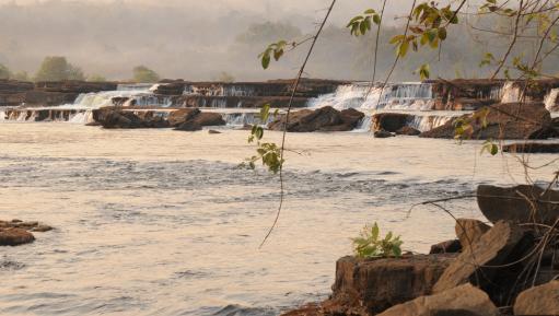 The Koukoutamba falls, Guinea