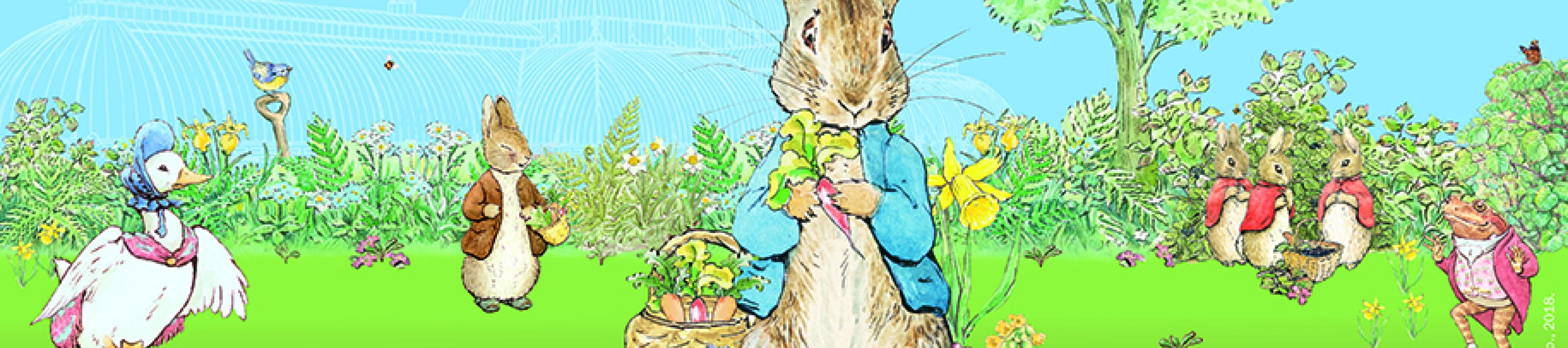 Peter Rabbit and friends at Kew