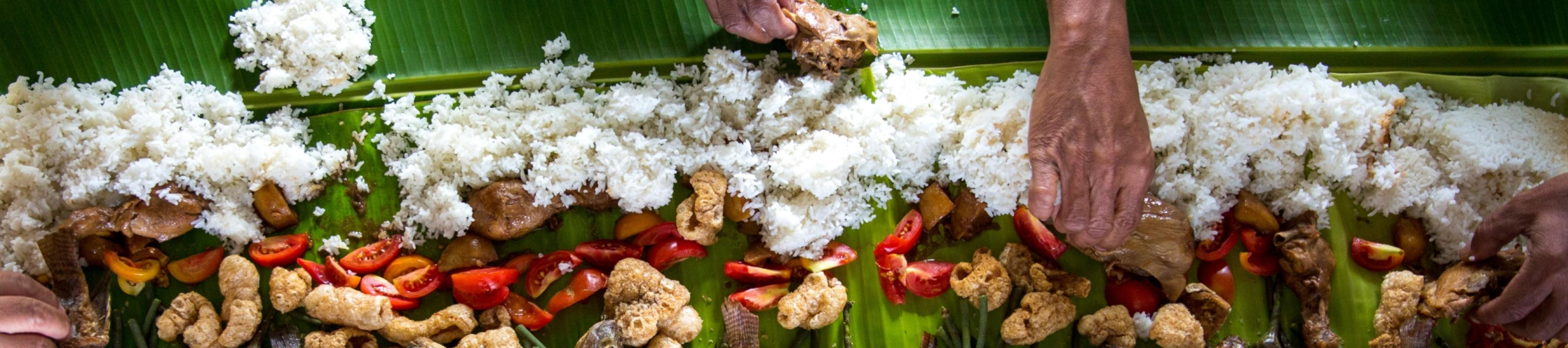 A meal of rice in the Philippines by Avel Chuklanov/Unsplash