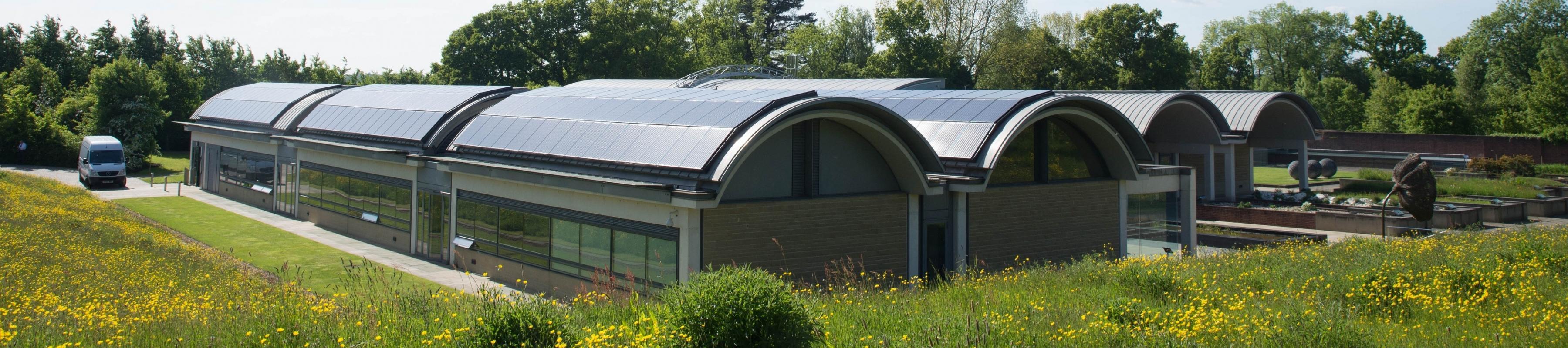 Millennium Seed Bank solar panels