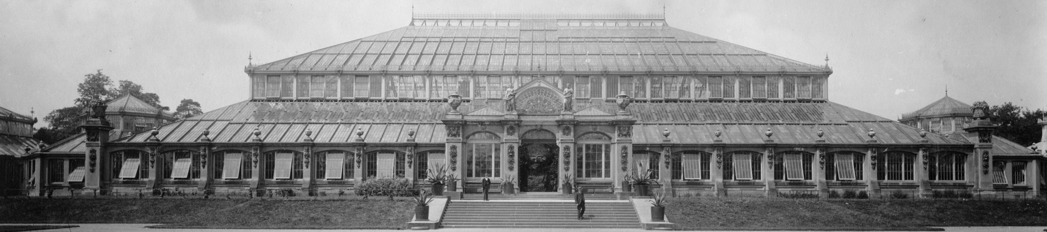 Temperate House in the 1890s © Board of Trustees, RBG Kew