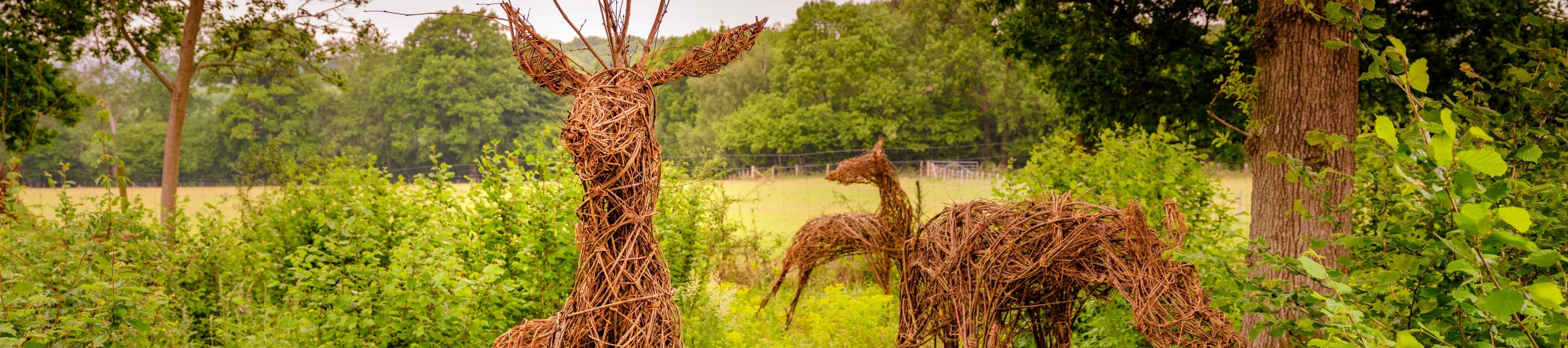 Willow deer making