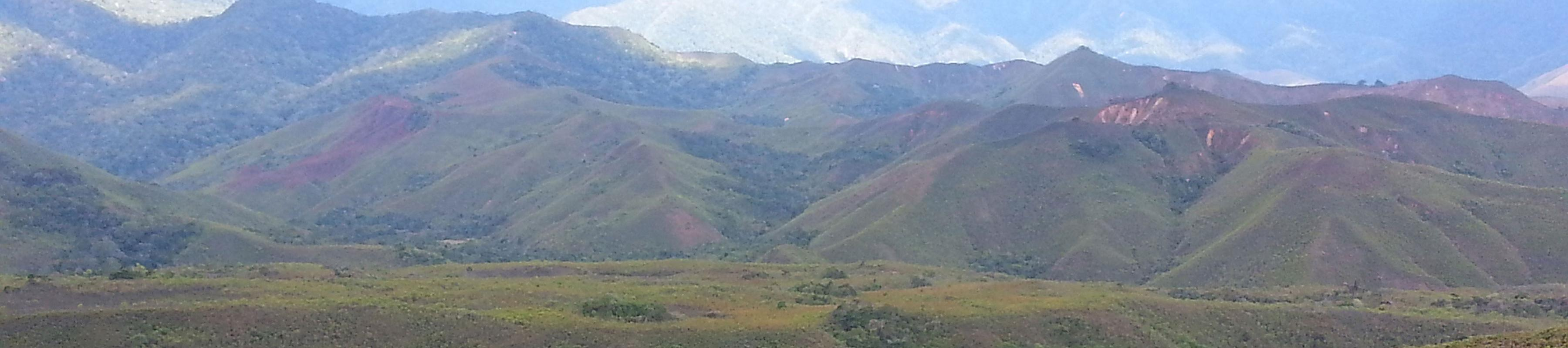 Mountain range in Madagascar