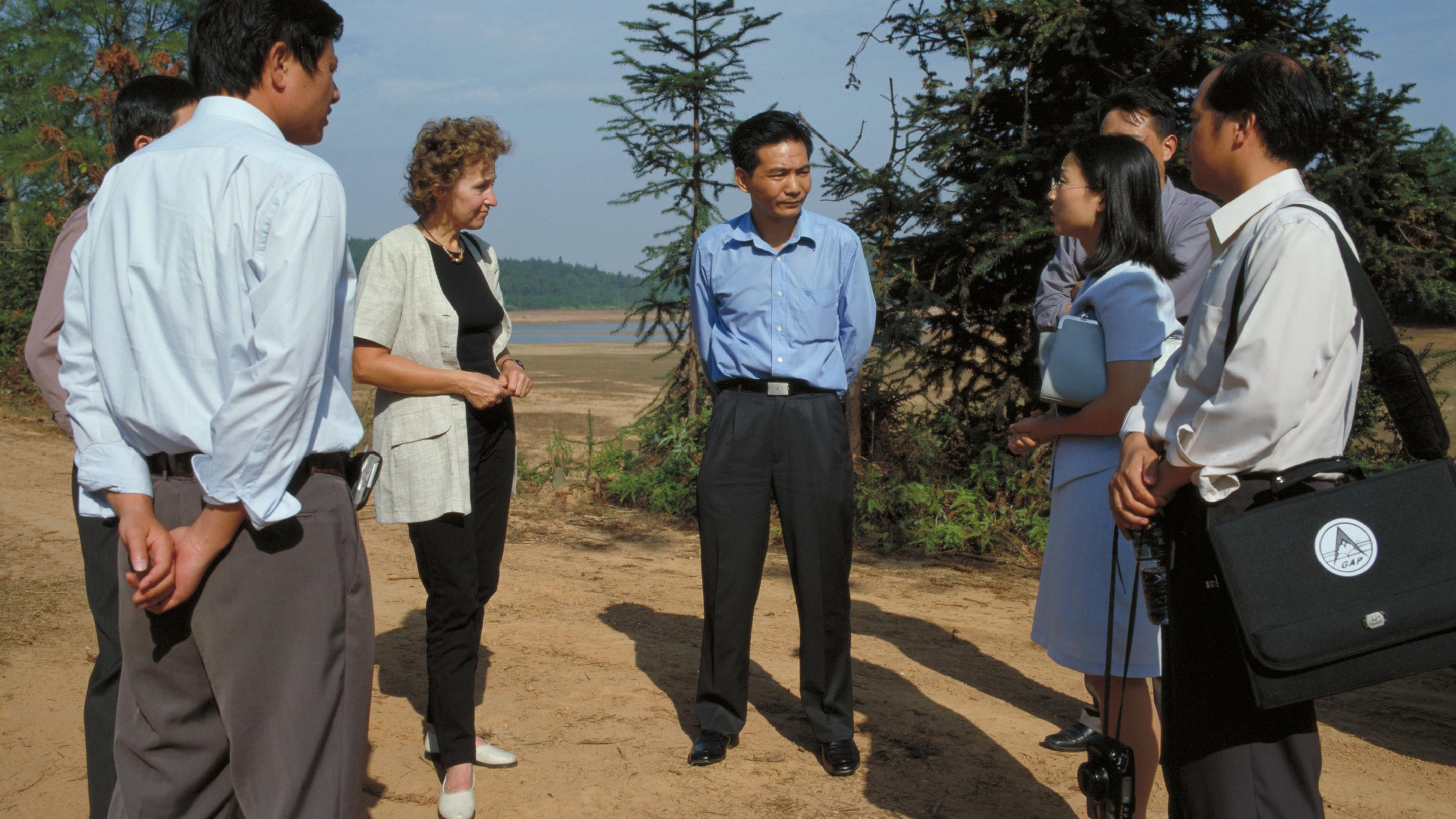 Chinese medicinal plants expedition