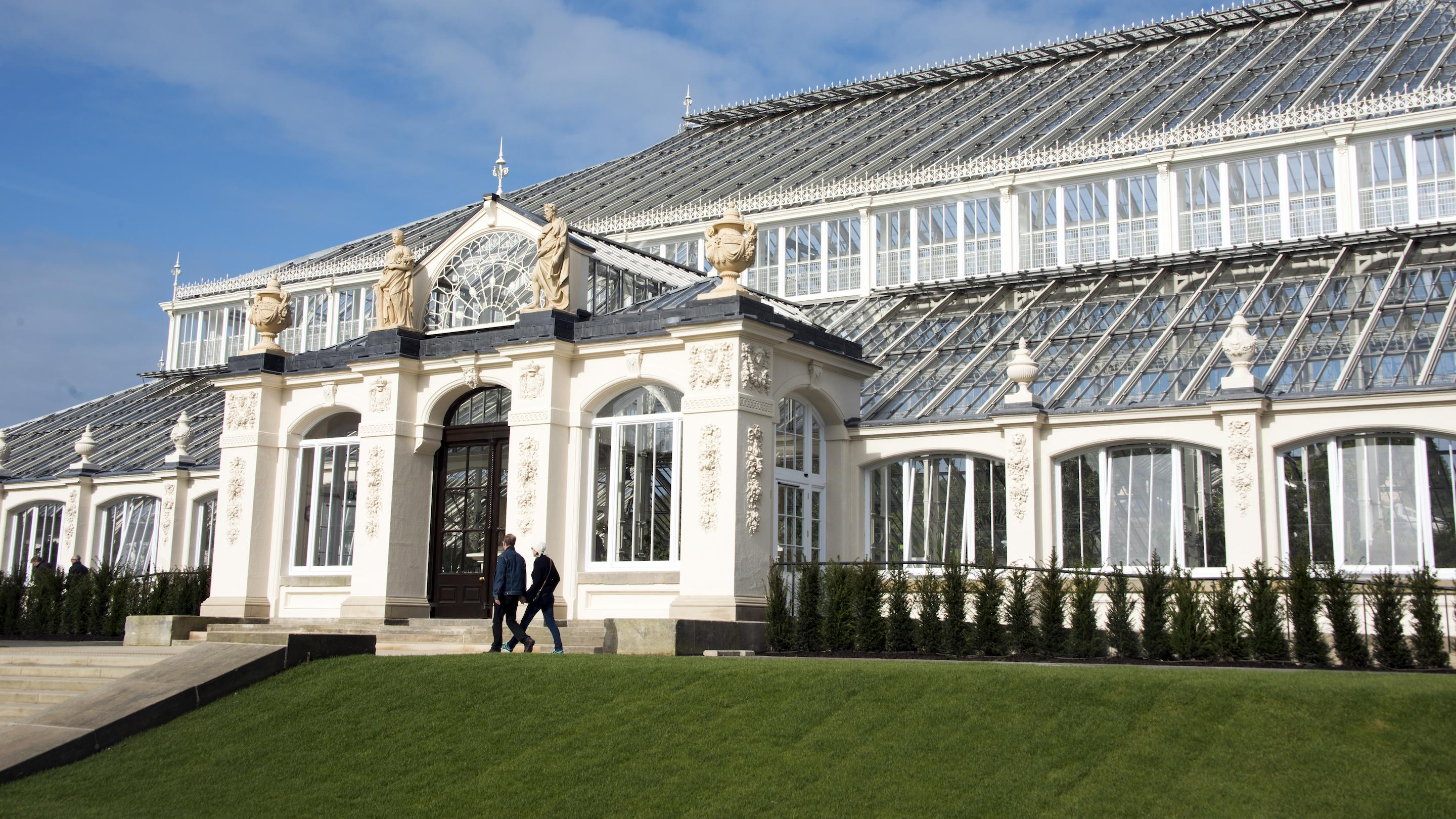 Exterior shot of Temperate House