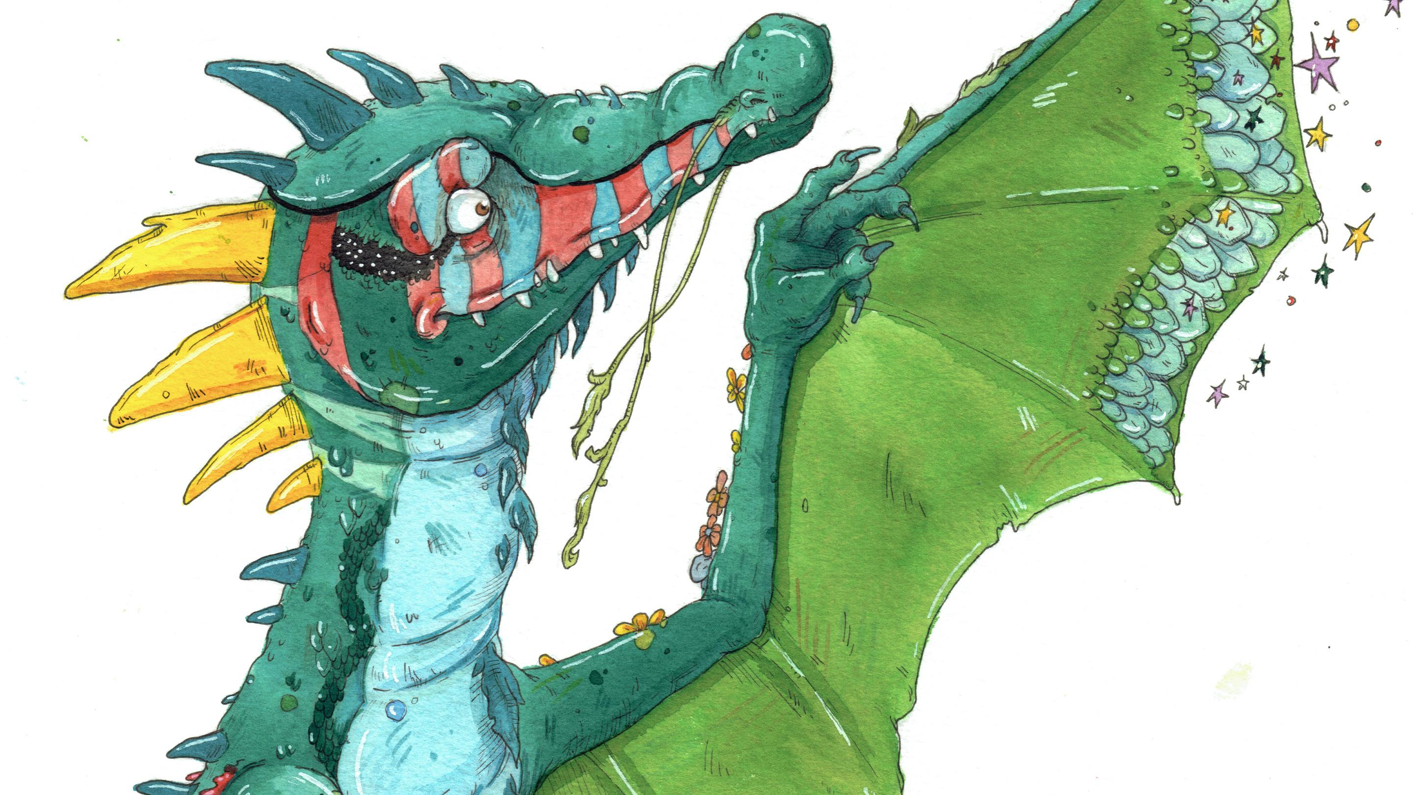 Goldy the dragon (Image: Historic Royal Palaces)