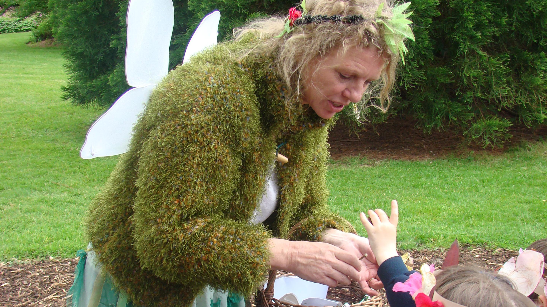 Green Fairy at Wakehurst