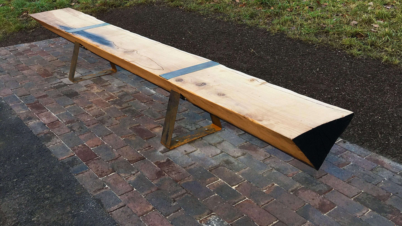 The Verdun Bench at Kew Gardens