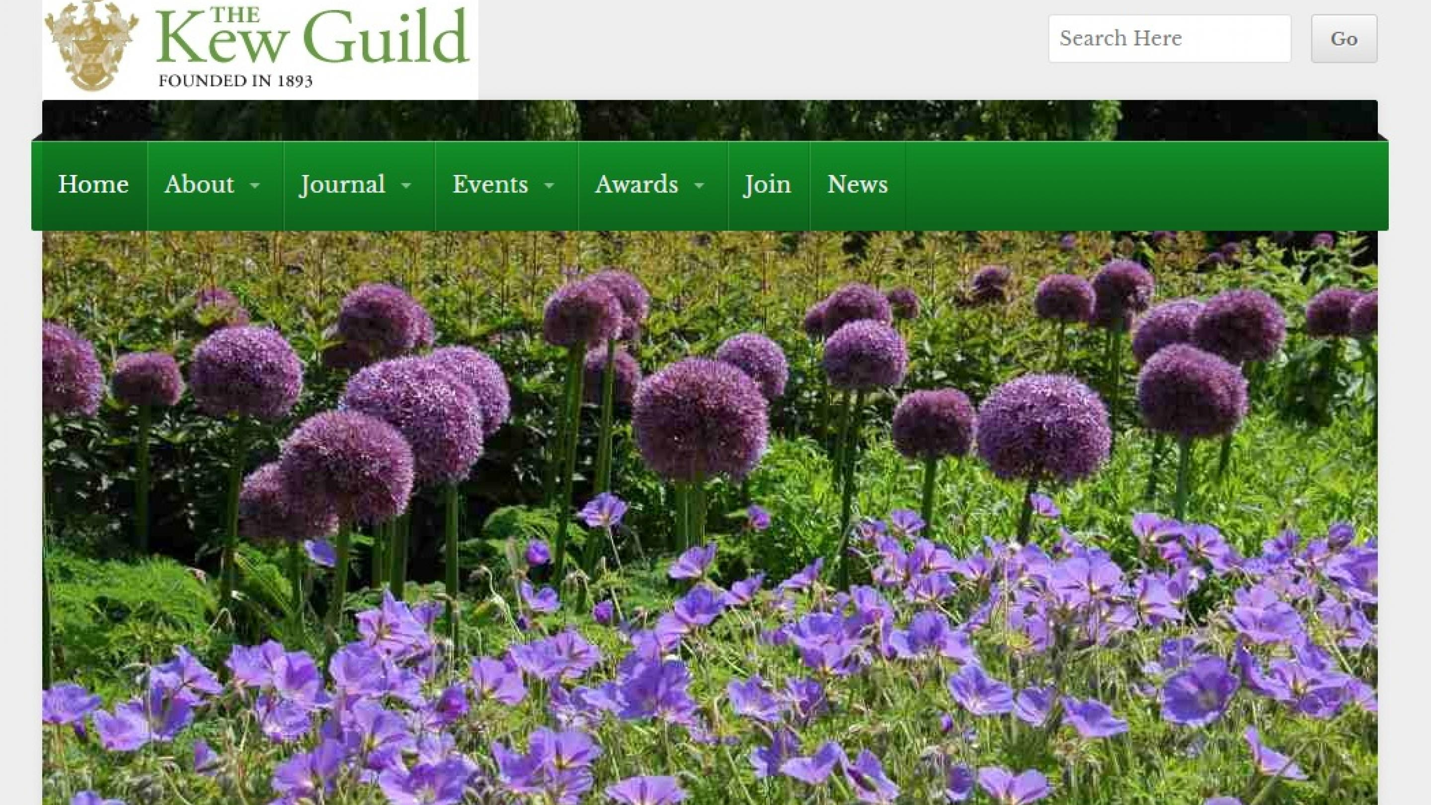 Kew Guild website