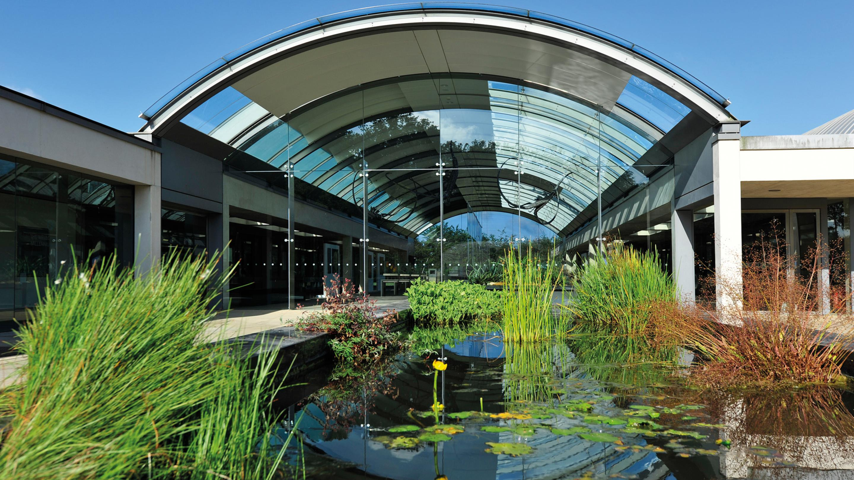 Photo of front of Millennium Seed Bank