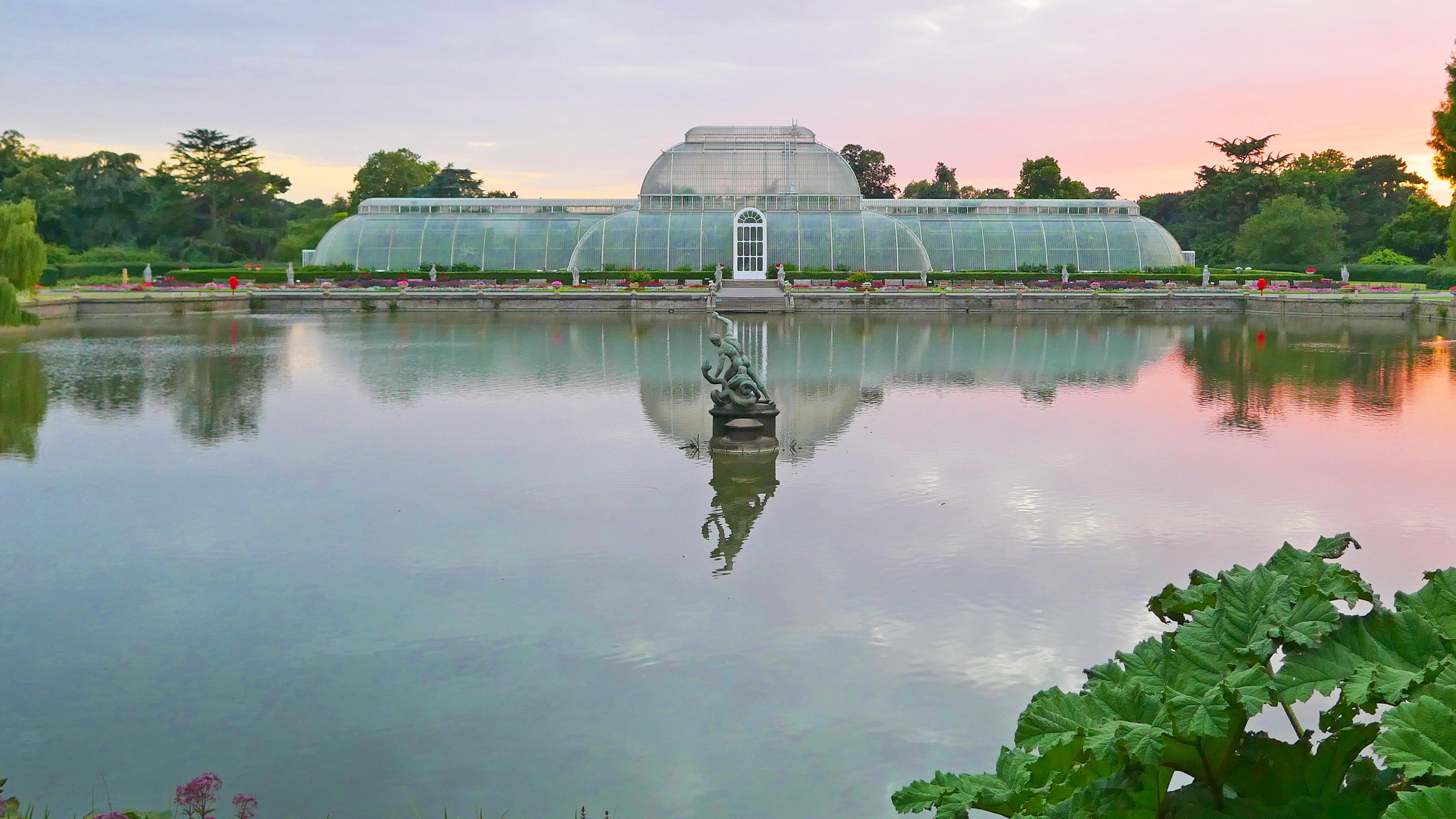 The iconic Palm House at Kew