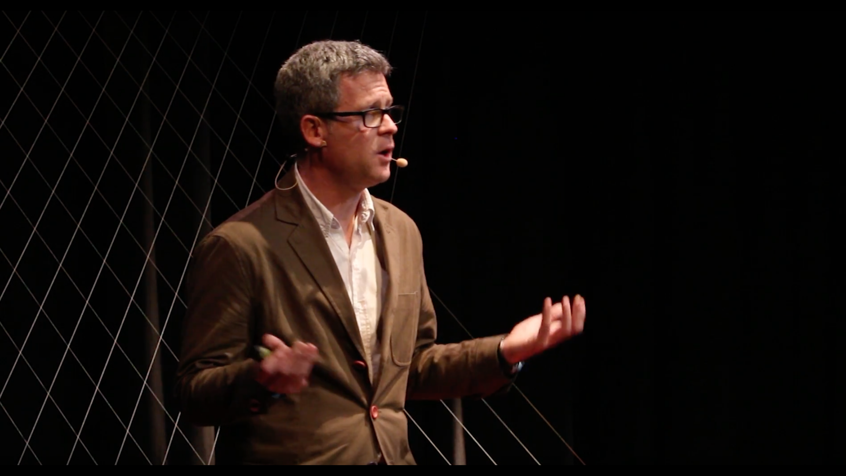 Still from Ed Ikin's TEDx talk