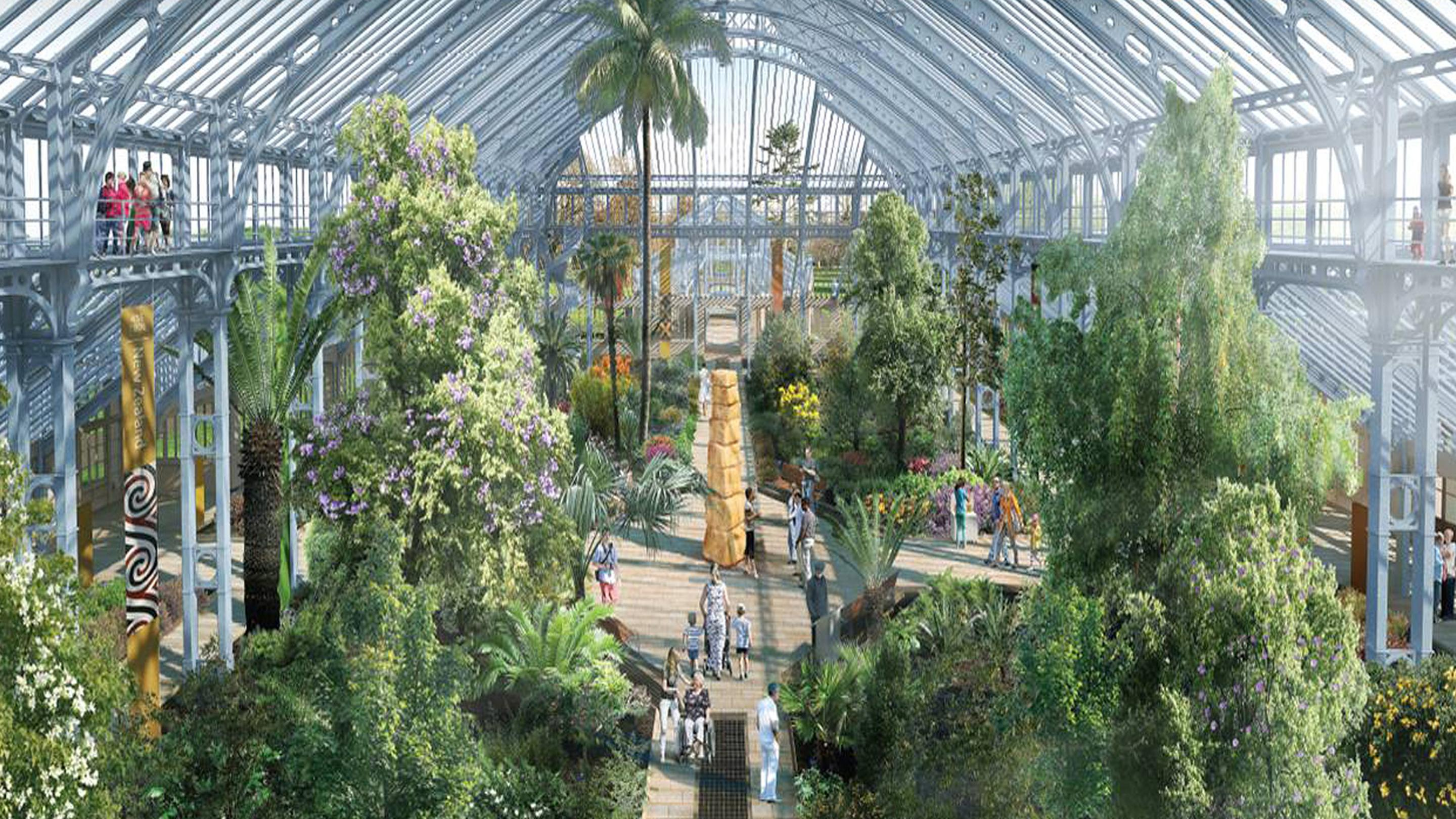 Press Release Kewu0026#39;s Iconic Temperate House To Re-open In Six Months | Kew