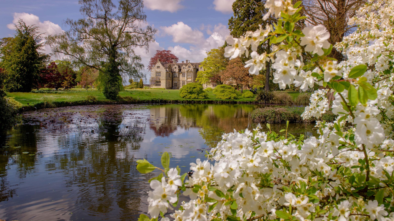 Wakehurst Mansion in spring (Image: Jim Holden)