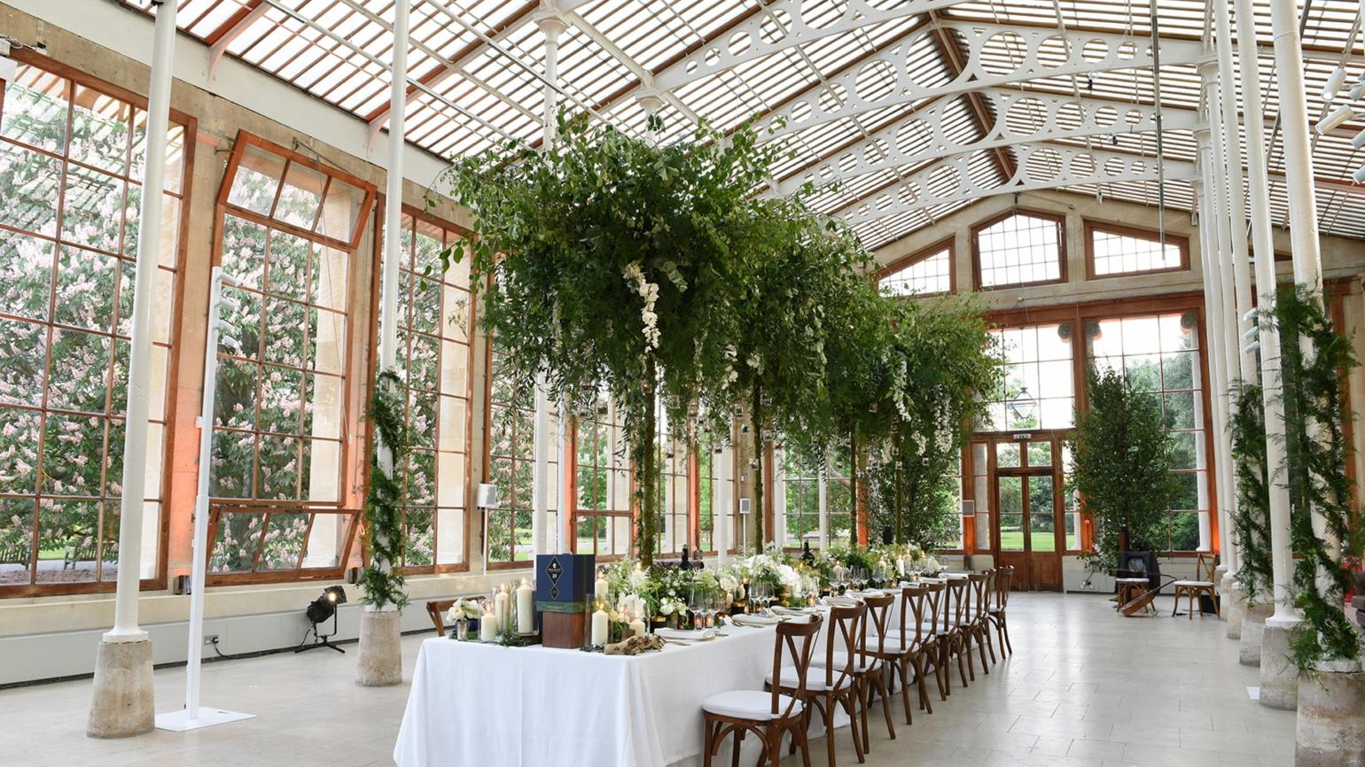 Dining in the Nash Conservatory