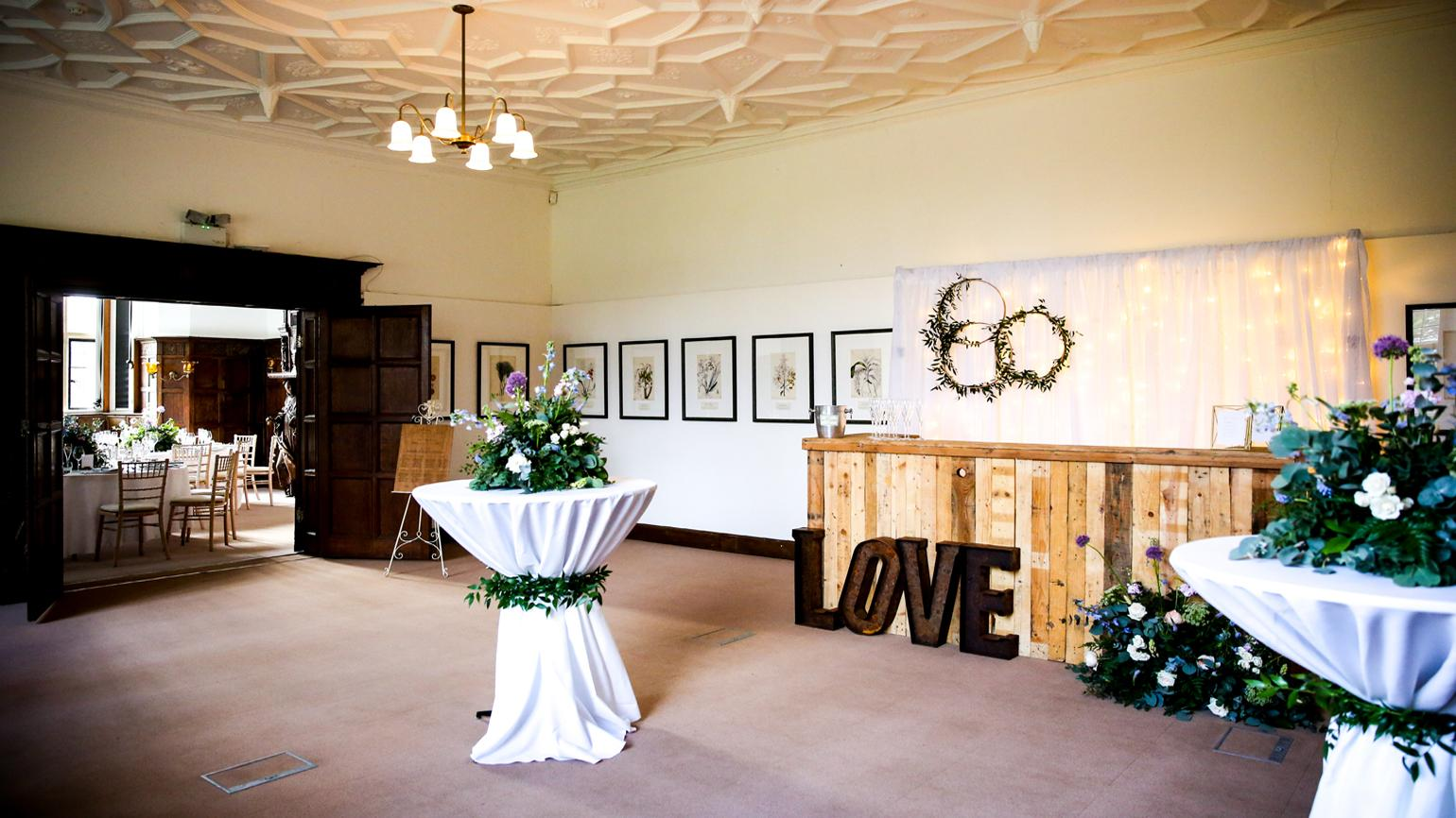 A wedding in the Wakehurst Mansion