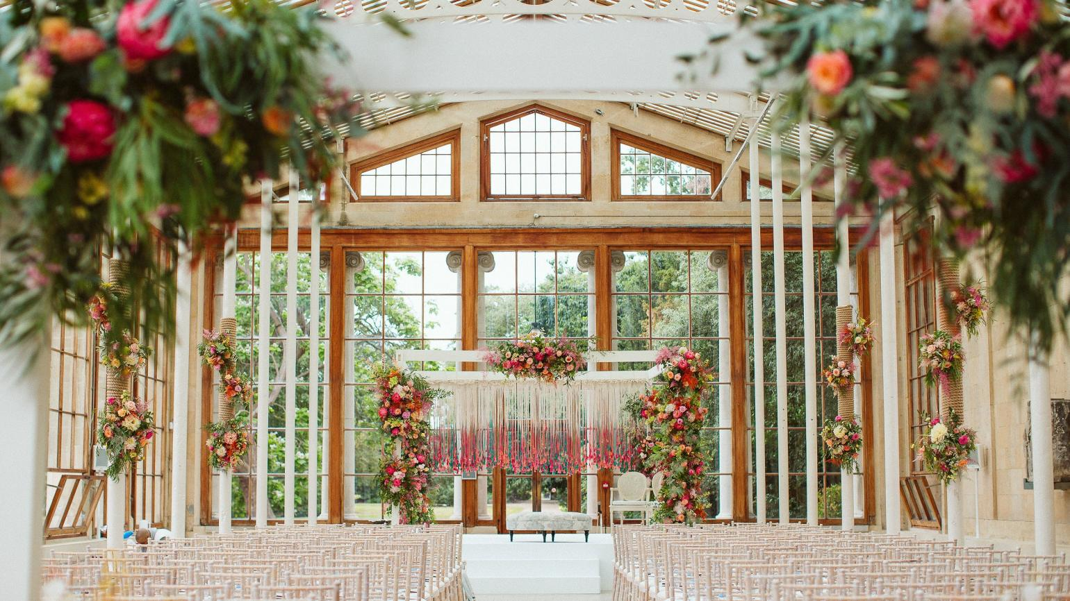 The Nash Conservatory, Asian wedding