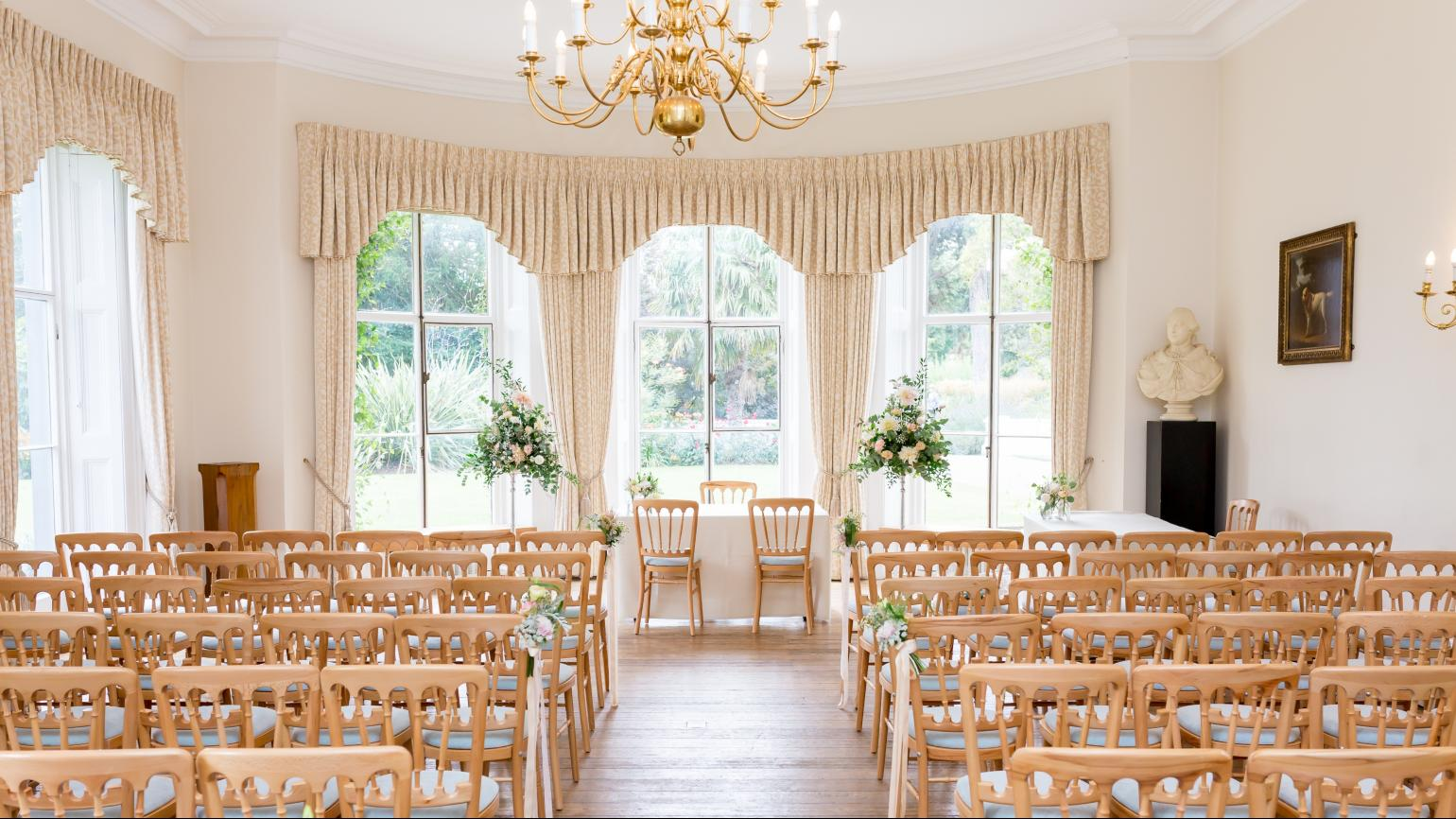 Cambridge Cottage wedding ceremony
