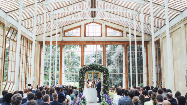 Aisle in the Nash Conservatory