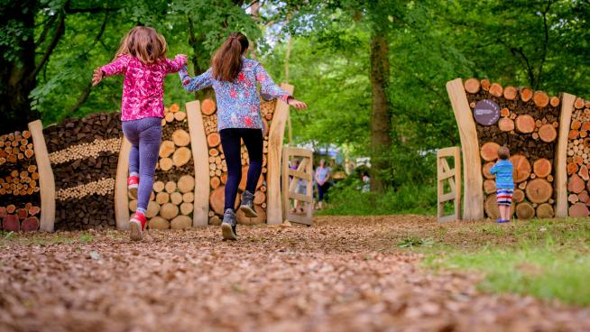 Children at Wakehurst (Image: Jim Holden)