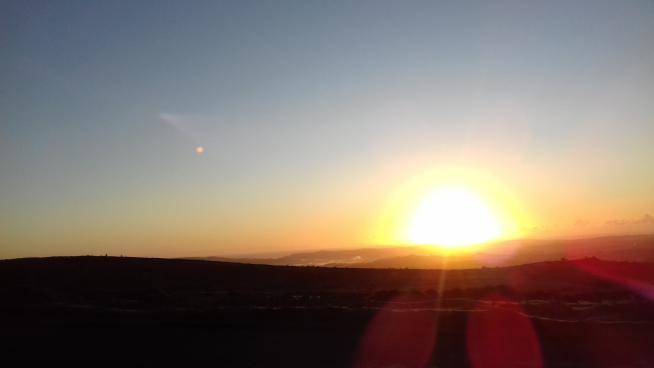 image showing Sunrise over Dartmoor