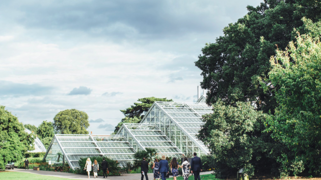 Exterior of the Princess of Wales Conservatory