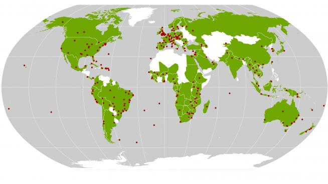 Kew's scientific work spans more than 100 countries