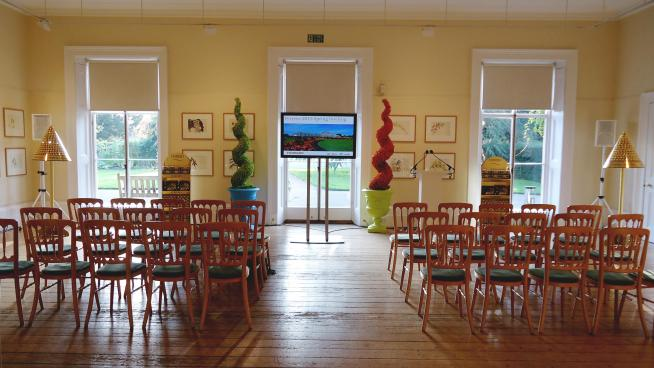 Corporate event in the Cambridge Cottage lounge