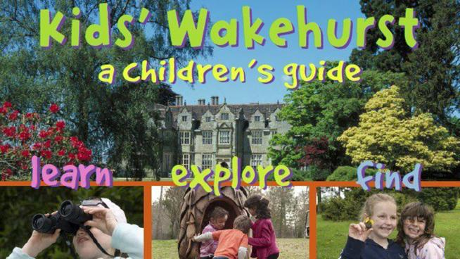 Kid's Wakehurst guide book