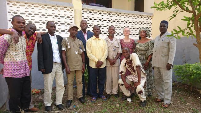 Image showing Participants of the Coastal Guinea Regional Workshop