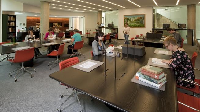Reading Room of Kew's main library