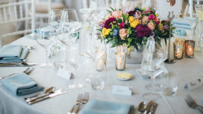Orangery table setting